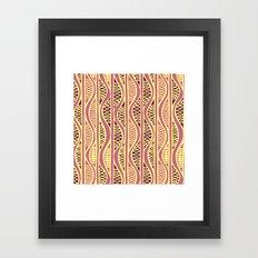 Peapods - Honeysuckle Gold Framed Art Print