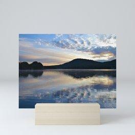 Rippling Reflections: September Sunrise on Lake George Mini Art Print