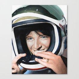 Sally Ride Canvas Print
