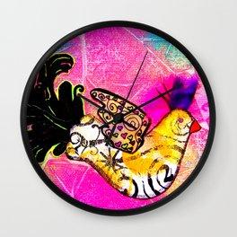 Fancy Bird Wall Clock