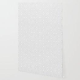Angled Black Wallpaper