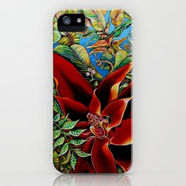 The Red Flower: Julie Northey iPhone Case