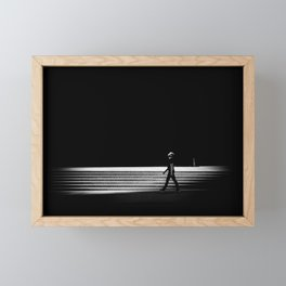 Looking Up Framed Mini Art Print