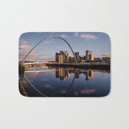 Millennium Bridge Gateshead Bath Mat