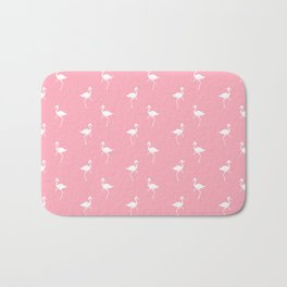 Flamingos Pattern Bath Mat