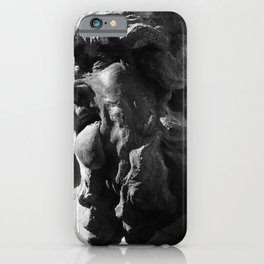 face in shadow iPhone Case