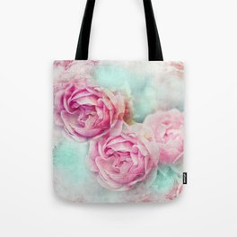 RED ROSES FOR THE LADY Tote Bag