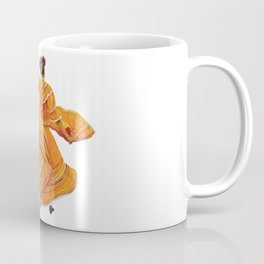 Orange Dress Dancer Baile Folklorico Coffee Mug
