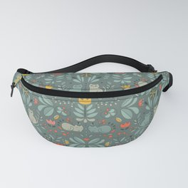 Swedish Folk Cats Fanny Pack