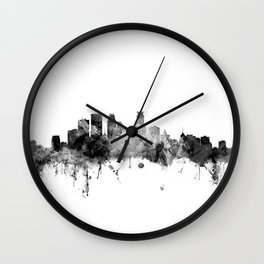 Minneapolis Minnesota Skyline Wall Clock