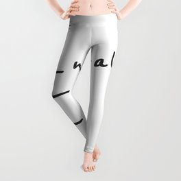 Inhale Exhale Leggings