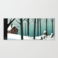 finland Canvas Prints featuring Finland by quentinschall