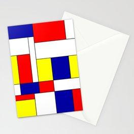 Mondrian #37 Stationery Cards