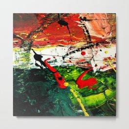 Vectorised Abstract art Metal Print
