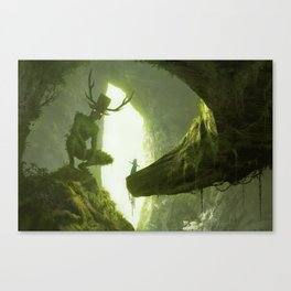 How do you mean you don't wanna go outside? Canvas Print