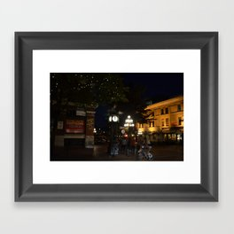 Steamclock in Vancouver Framed Art Print
