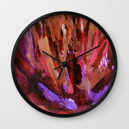 Let the Fire Fall Wall Clock
