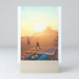 Rio de Janeiro - Ipanema - Art Mini Art Print