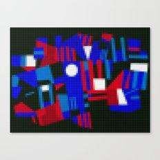 Lego: Abstract Canvas Print