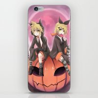 vocaloid iPhone & iPod Skins featuring vocaloid black cats by Sunny