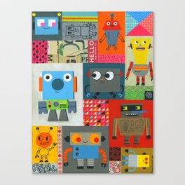 FIXIT BOTS Canvas Print