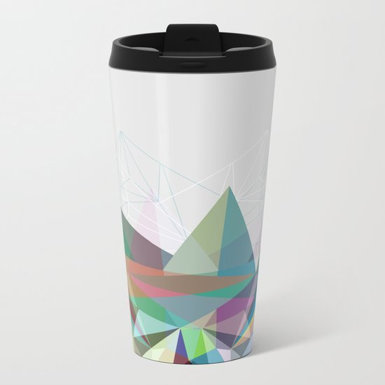 Colorflash 7 Metal Travel Mug
