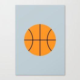 #9 Basketball Canvas Print