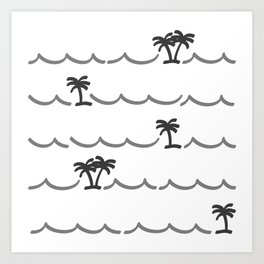 Tropica Art Print