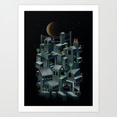 The City Art Print