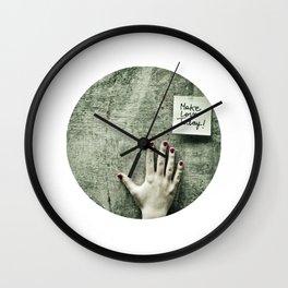Spread the Word Wall Clock