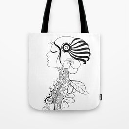 Putri Malu Tote Bag