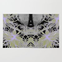 geode Area & Throw Rugs featuring Geode 7 by michiko_design