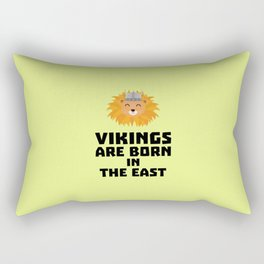 Vikings are born in the East T-Shirt D37dx Rectangular Pillow