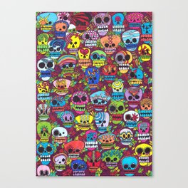 The day of the Dead Canvas Print