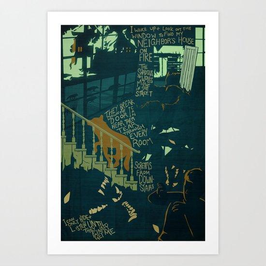 Surrounded | Bad Dream Art Print