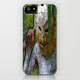 Madman of Papua New Guinea iPhone Case