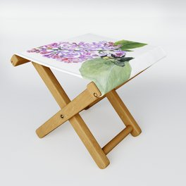 Lilac Love by Teresa Thompson Folding Stool