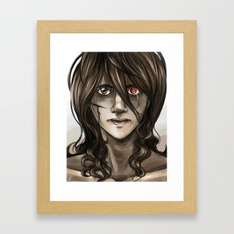 Portrait of Uzuki  Framed Art Print