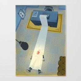 Crime Fiction Canvas Print