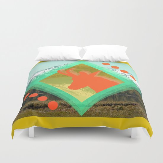 chamois d'or Duvet Cover