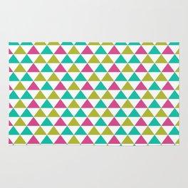 Bright Triangles Rug