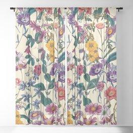 Magical Garden XVI Sheer Curtain