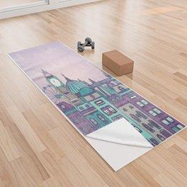 London Skyline Yoga Towel