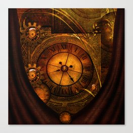 Awesome noble steampunk design Canvas Print