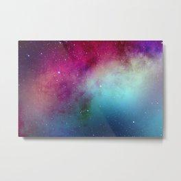 Pinky galaxy Metal Print