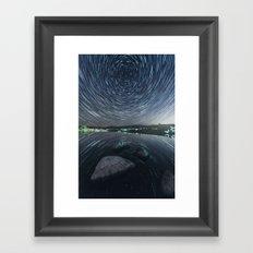 Mirrored Rotation Framed Art Print