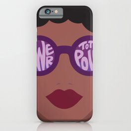 Power To The Polls iPhone Case