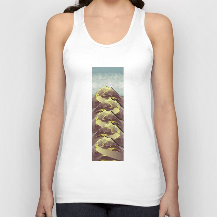 The Great, Great Night Mountain No. 4 Unisex Tank Top