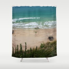 Above the Beach Shower Curtain