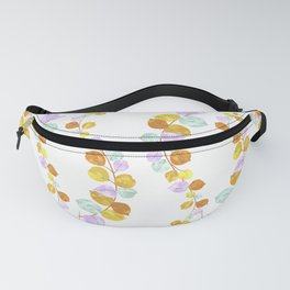 Colorful eucalyptus leaves Fanny Pack